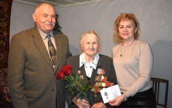 Вручение памятных медалей в честь 75-летия Великой Победы