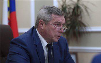 Глава региона Василий Голубев дал поручение ускорить ремонт детской поликлиники